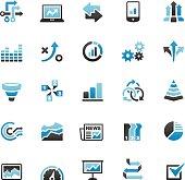 Infographic icons set