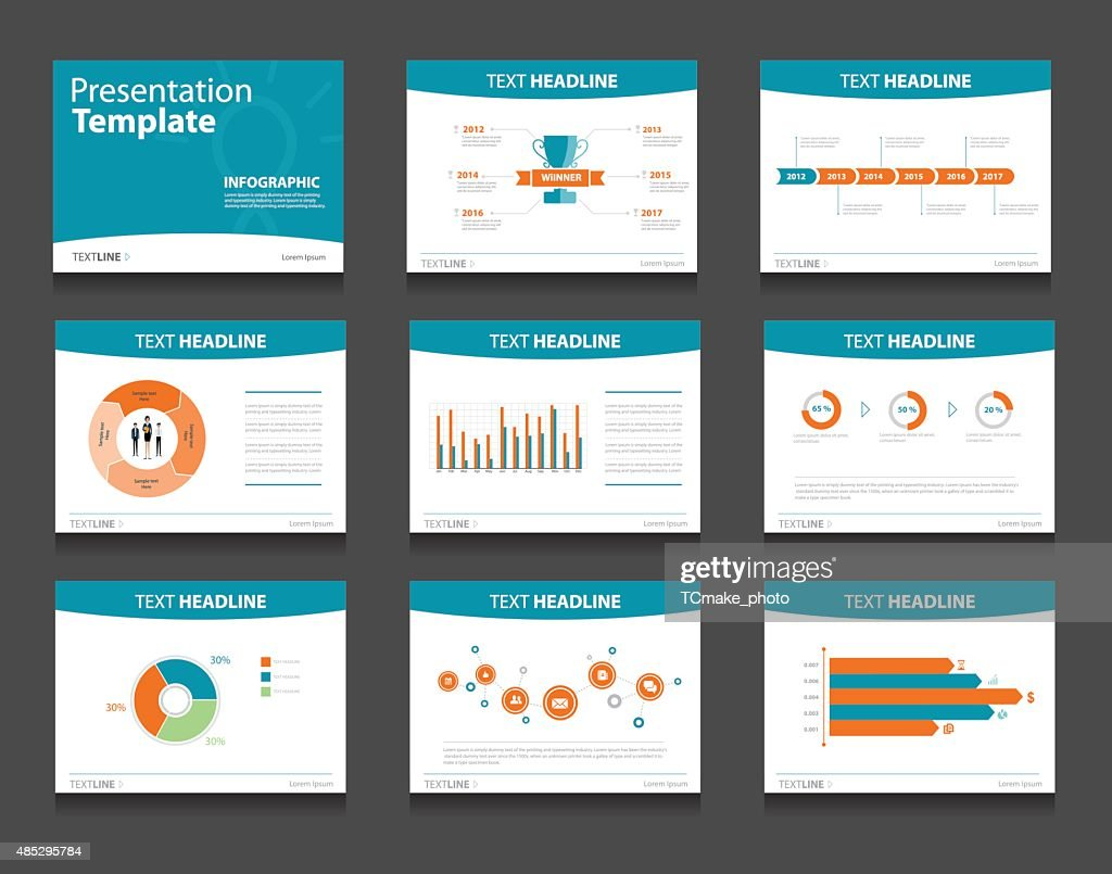infographic powerpoint template design backgrounds . business presentation template set