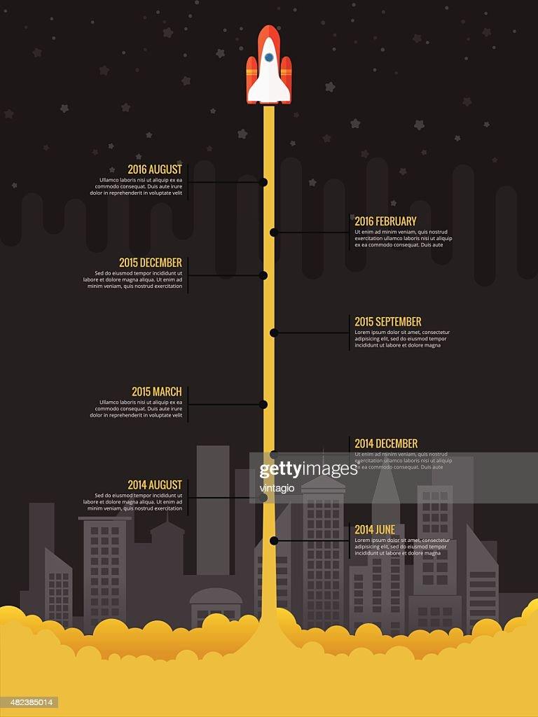 Infographic Rocket