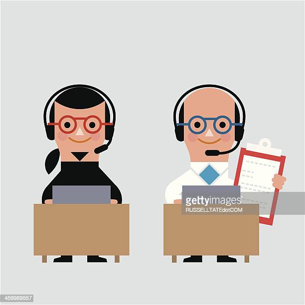 infographic tech support - balding stock illustrations, clip art, cartoons, & icons