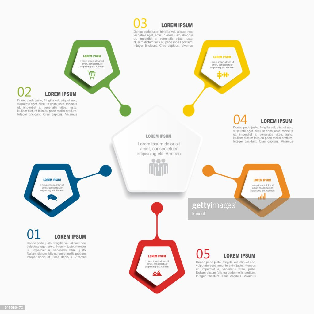 Infographic template. Vector illustration. Used for workflow layout, diagram, business step options, banner, web design.