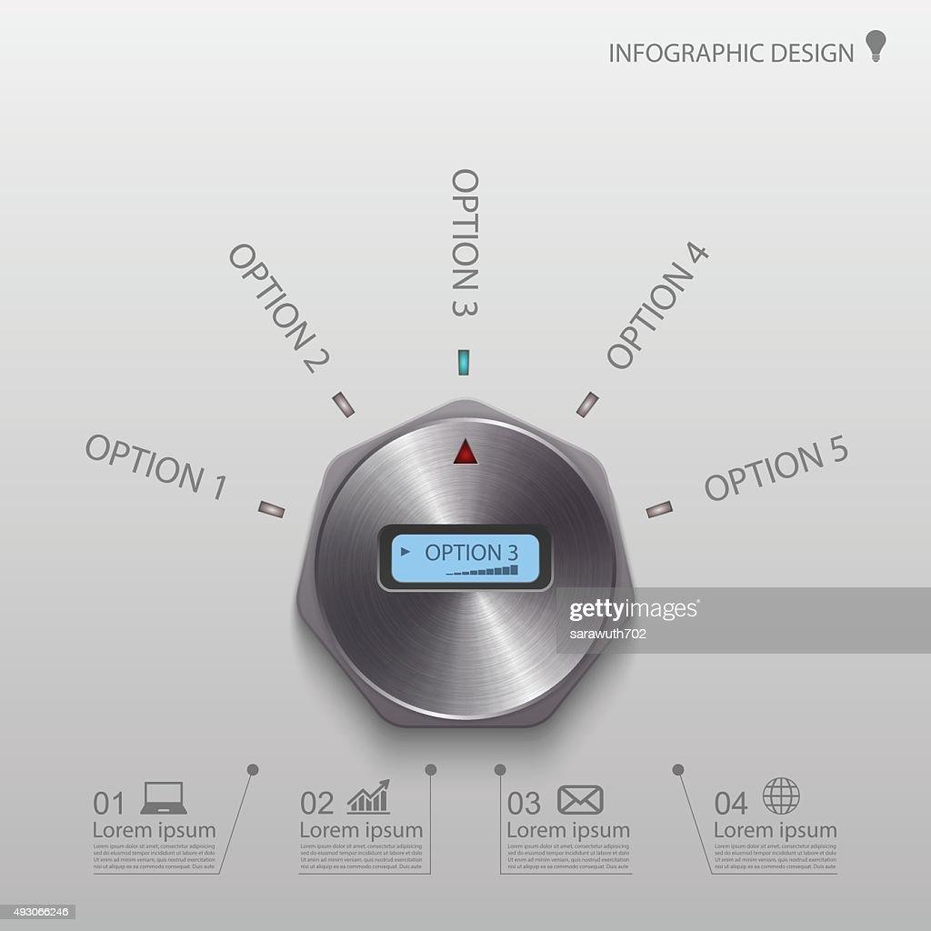 Infographic, vector