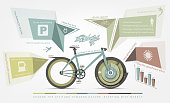 infographics benefits of bicycle use for humans