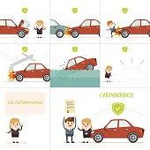 infographics car insurance business