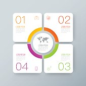 Infographics design vector and business icons.