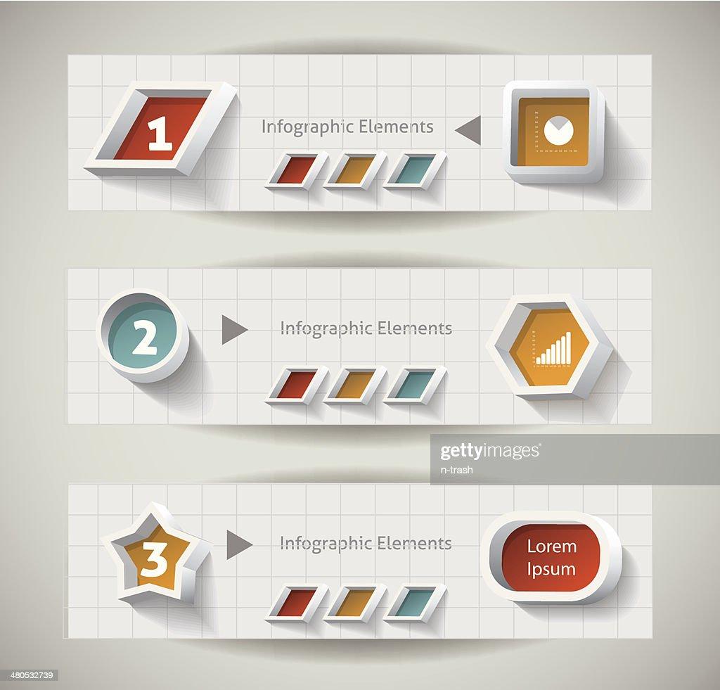 インフォグラフィックのデザインです。 : ベクトルアート