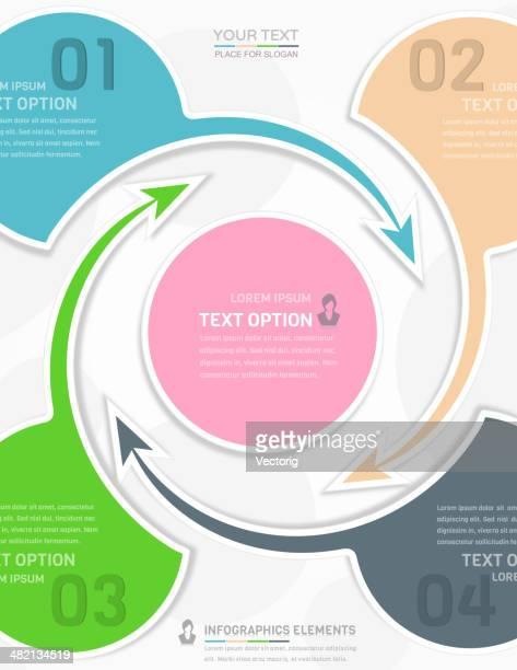 Infografiken design.