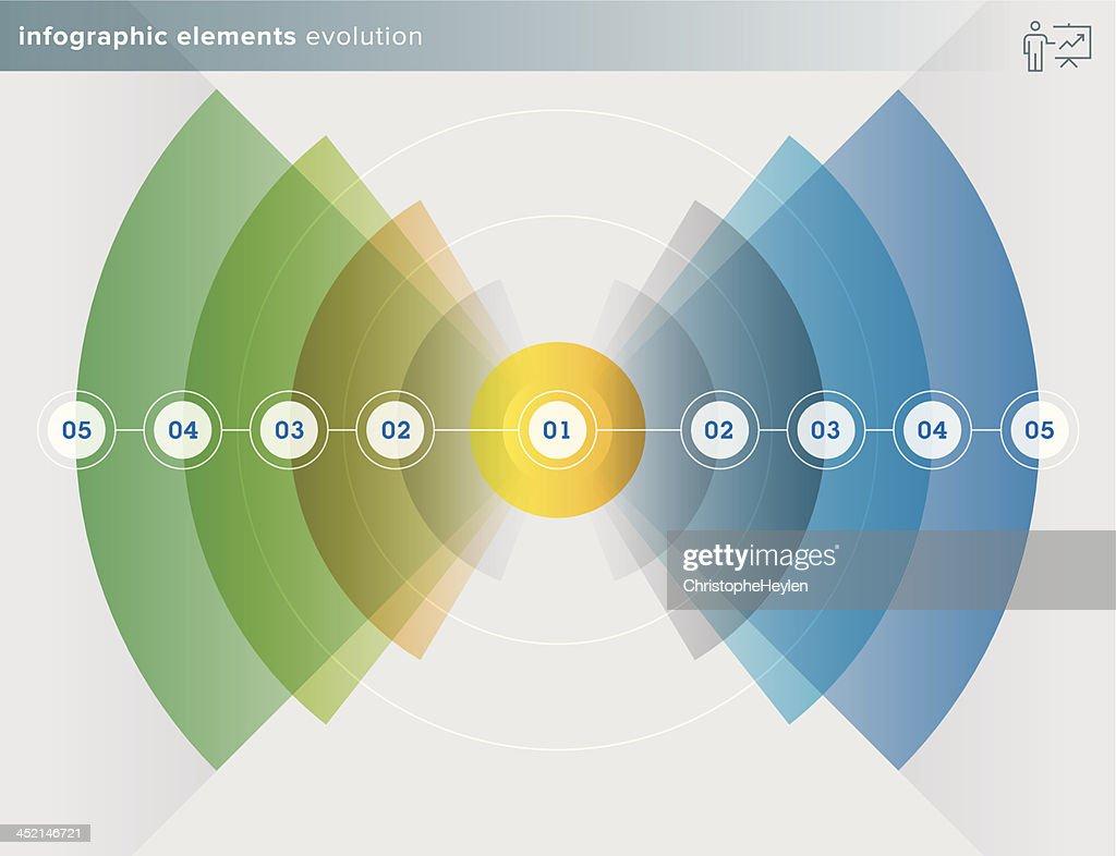 infographics elements – evolution series