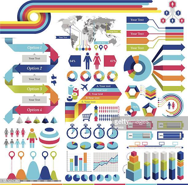 infographics elements - population explosion stock illustrations, clip art, cartoons, & icons