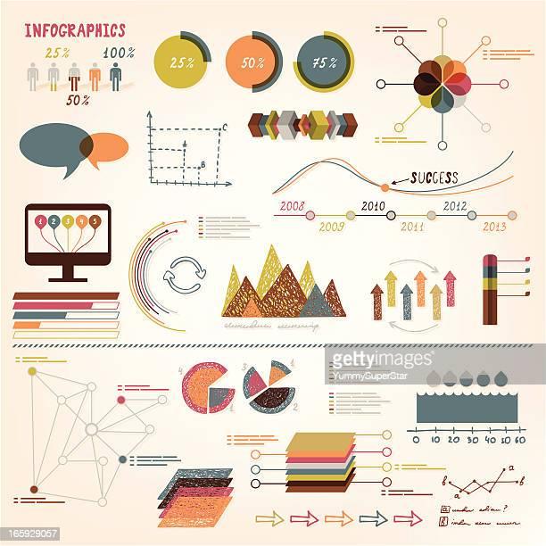 Infographics vector elements