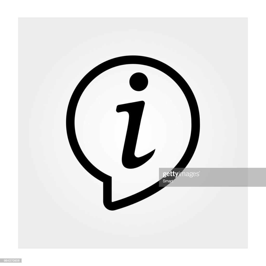 Information icon. Information symbol. Vector illustration