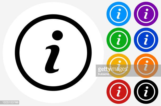information icon - information medium stock illustrations