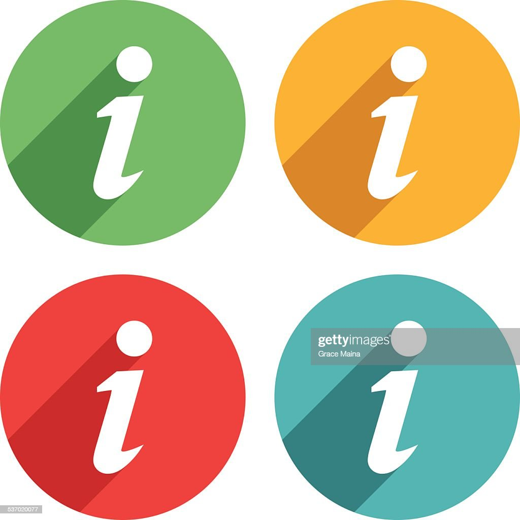 Information Icons - VECTOR
