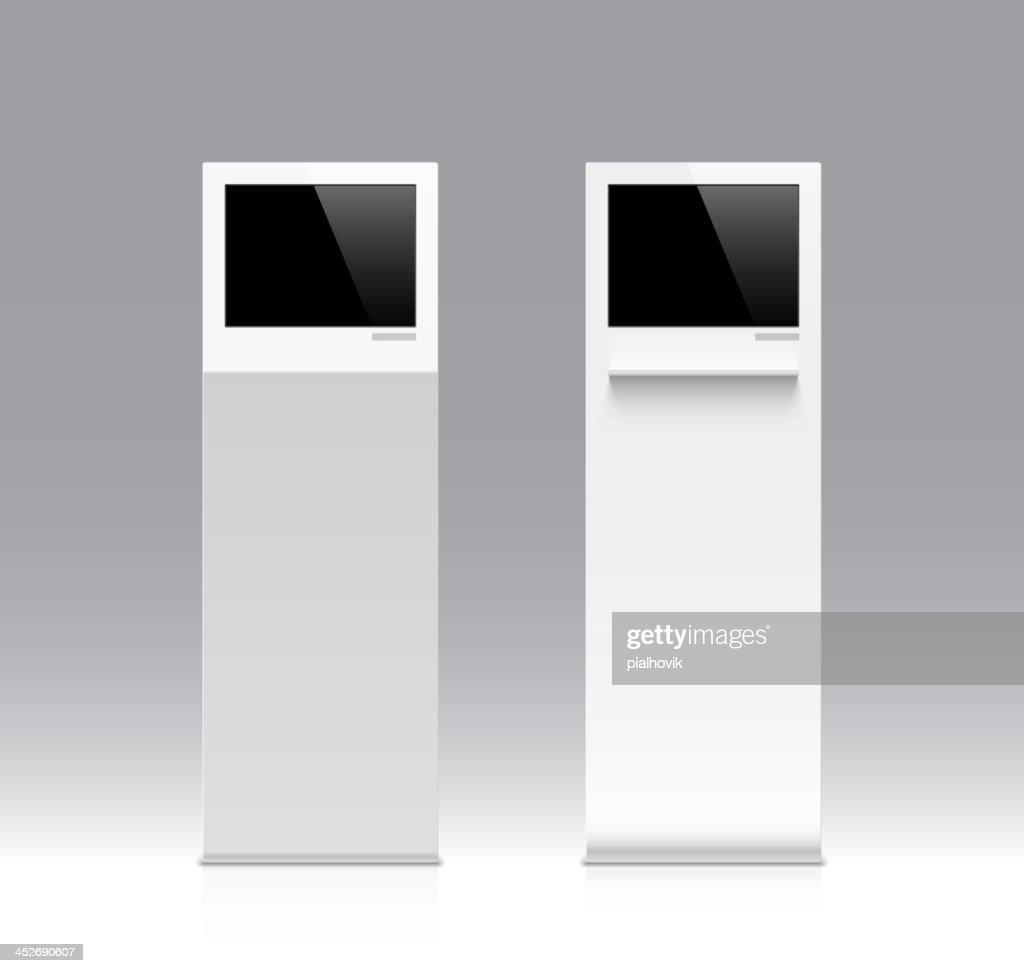 Information kiosk, terminal, stand