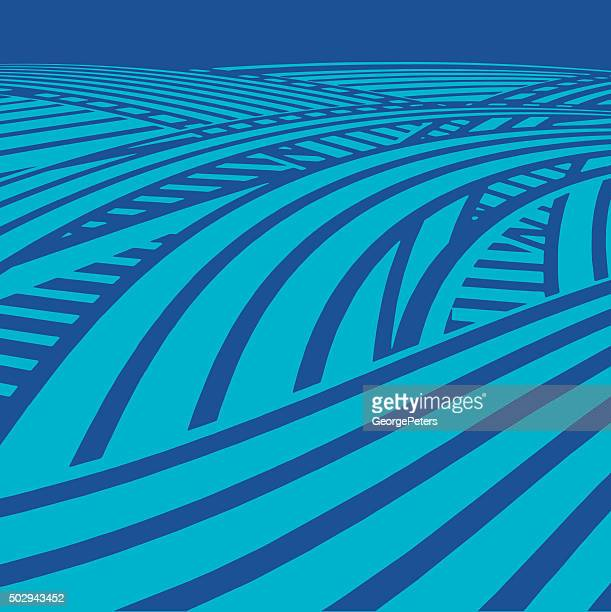 information superhighway or cyberspace - s shape stock illustrations
