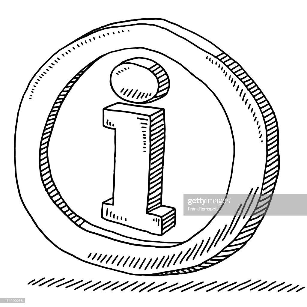 Information Symbol Drawing