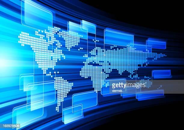 Monde global communication des informations