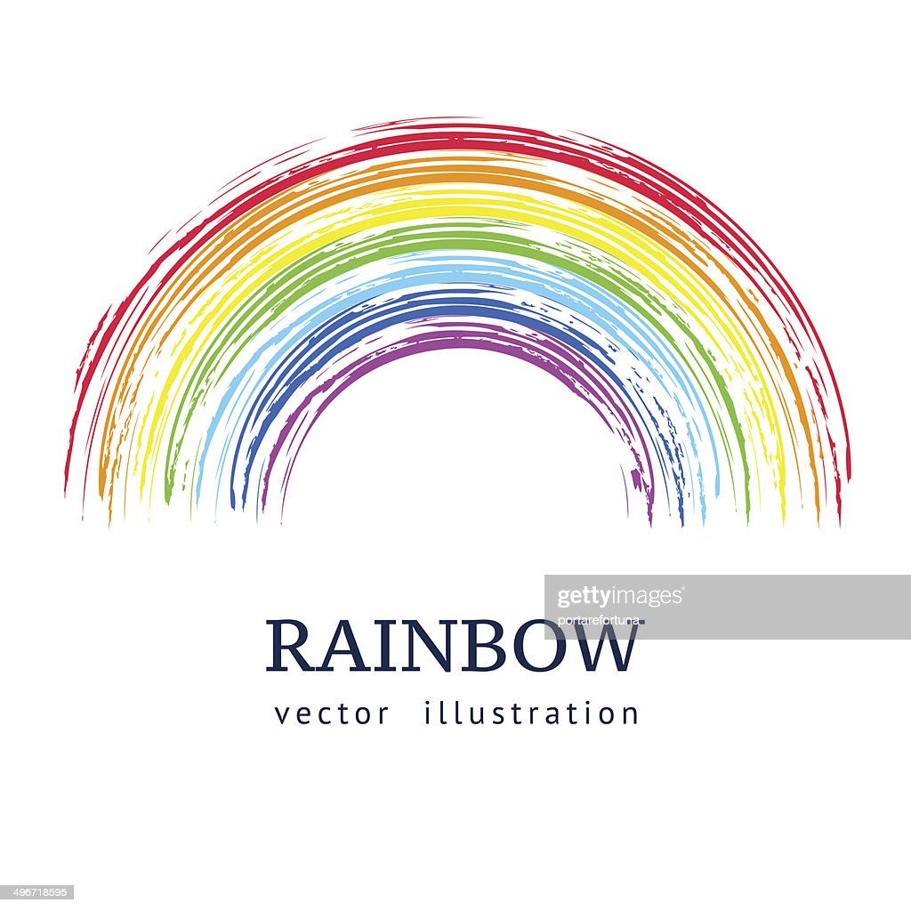 Ink rainbow.