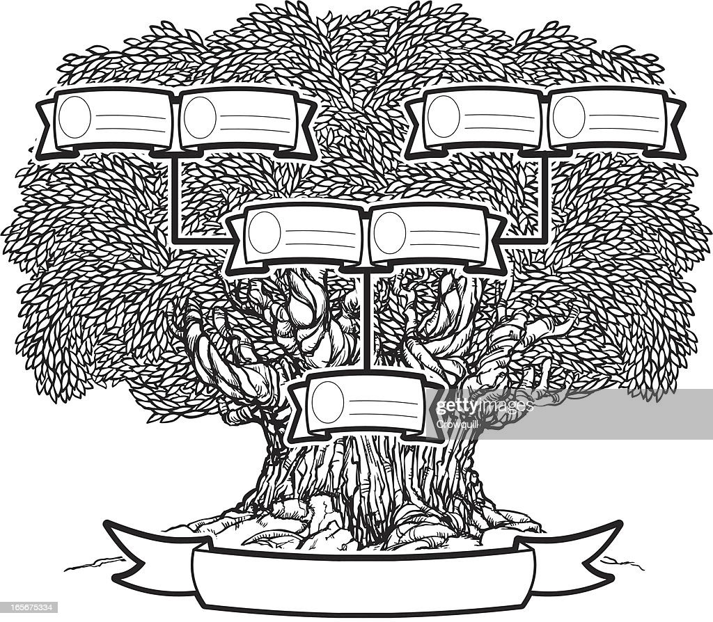 Inked Family Tree