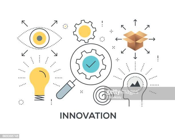 Innovation Concept with icons