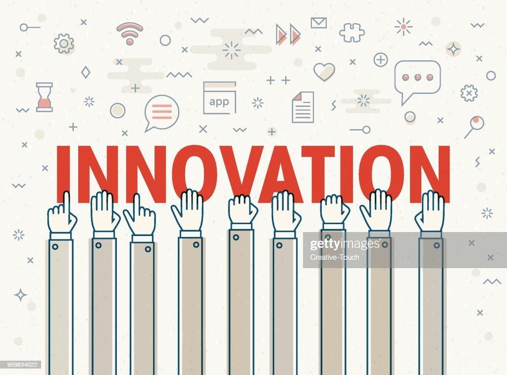 Innovation : Stock-Illustration
