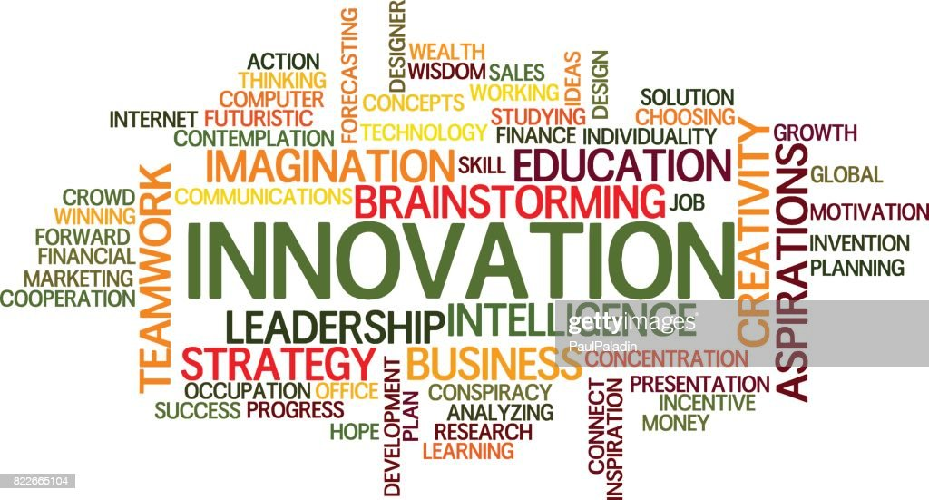 innovation Word Cloud Concept