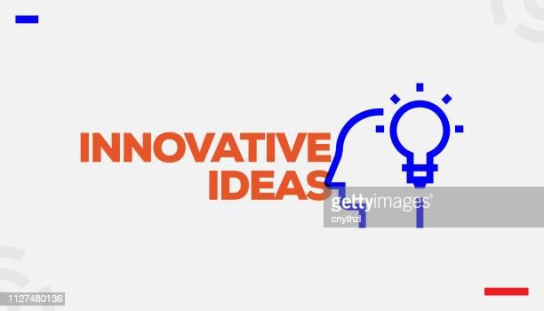 illustrations, cliparts, dessins animés et icônes de concept des idées novatrices - idée