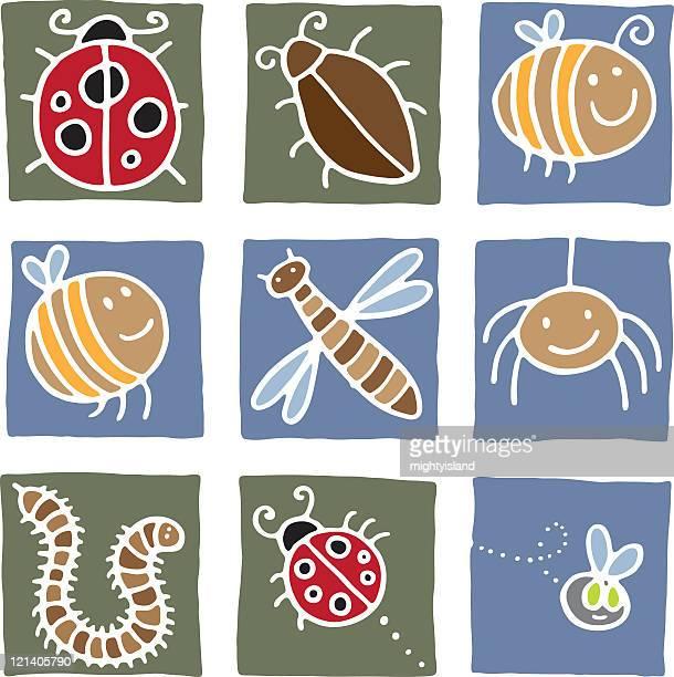 ilustrações de stock, clip art, desenhos animados e ícones de inseto imprime - centopeia