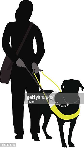 inseparable - dog leash stock illustrations, clip art, cartoons, & icons
