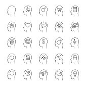 Inside head icons