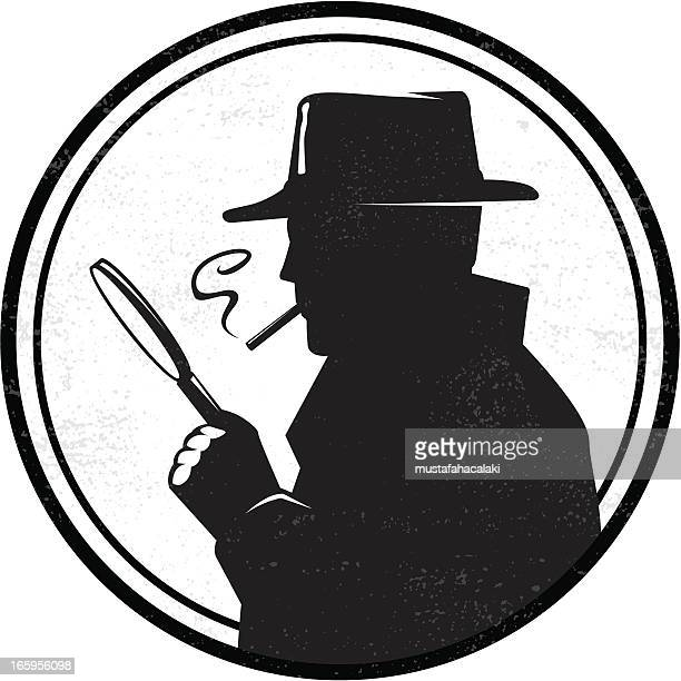 inspector - detective stock illustrations