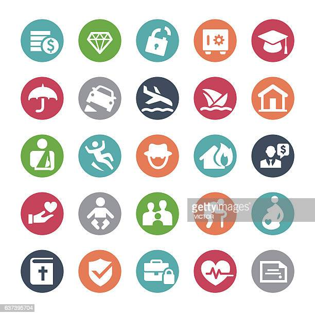 Insurance Icons - Bijou Series