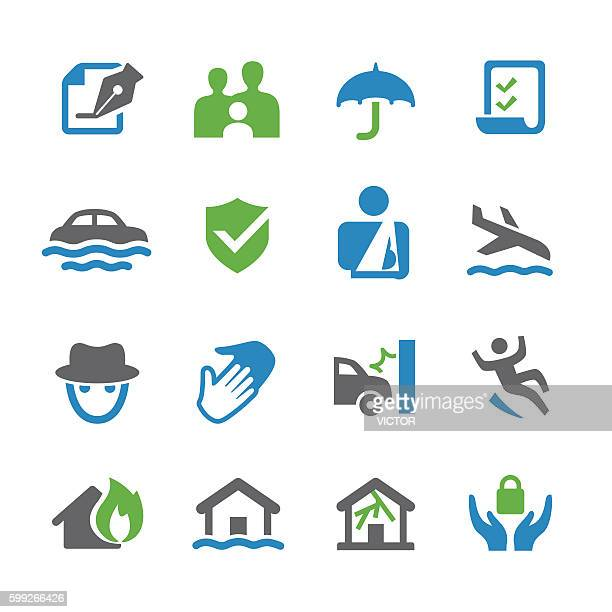 Insurance Icons - Spry Series