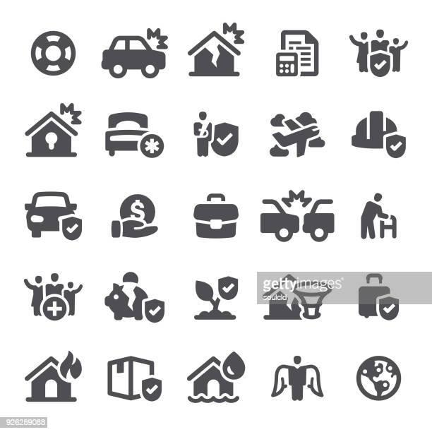 insurance icons - broken arm stock illustrations, clip art, cartoons, & icons