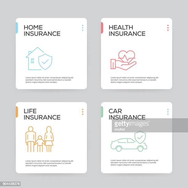 insurance infographic design template - graphic car accidents stock illustrations
