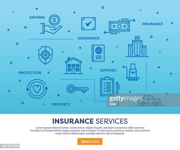 insurance services concept - car ownership stock illustrations, clip art, cartoons, & icons