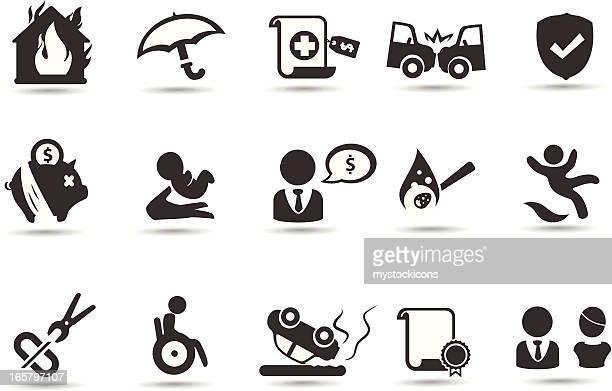 Símbolos de seguros