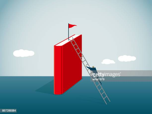 intellectual property - ladder stock illustrations, clip art, cartoons, & icons