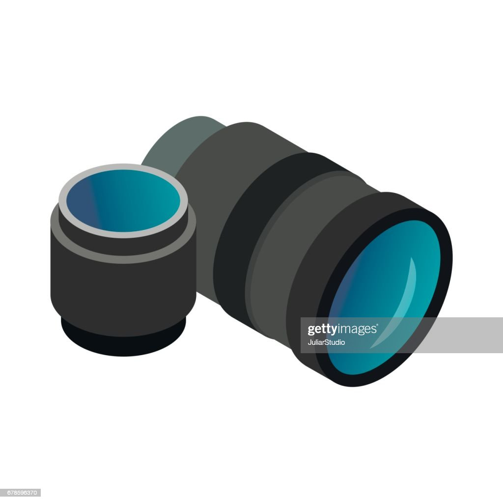 Interchangeable lens digital camera icon