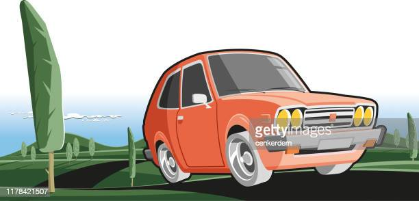 intercity driving - car ownership stock illustrations, clip art, cartoons, & icons