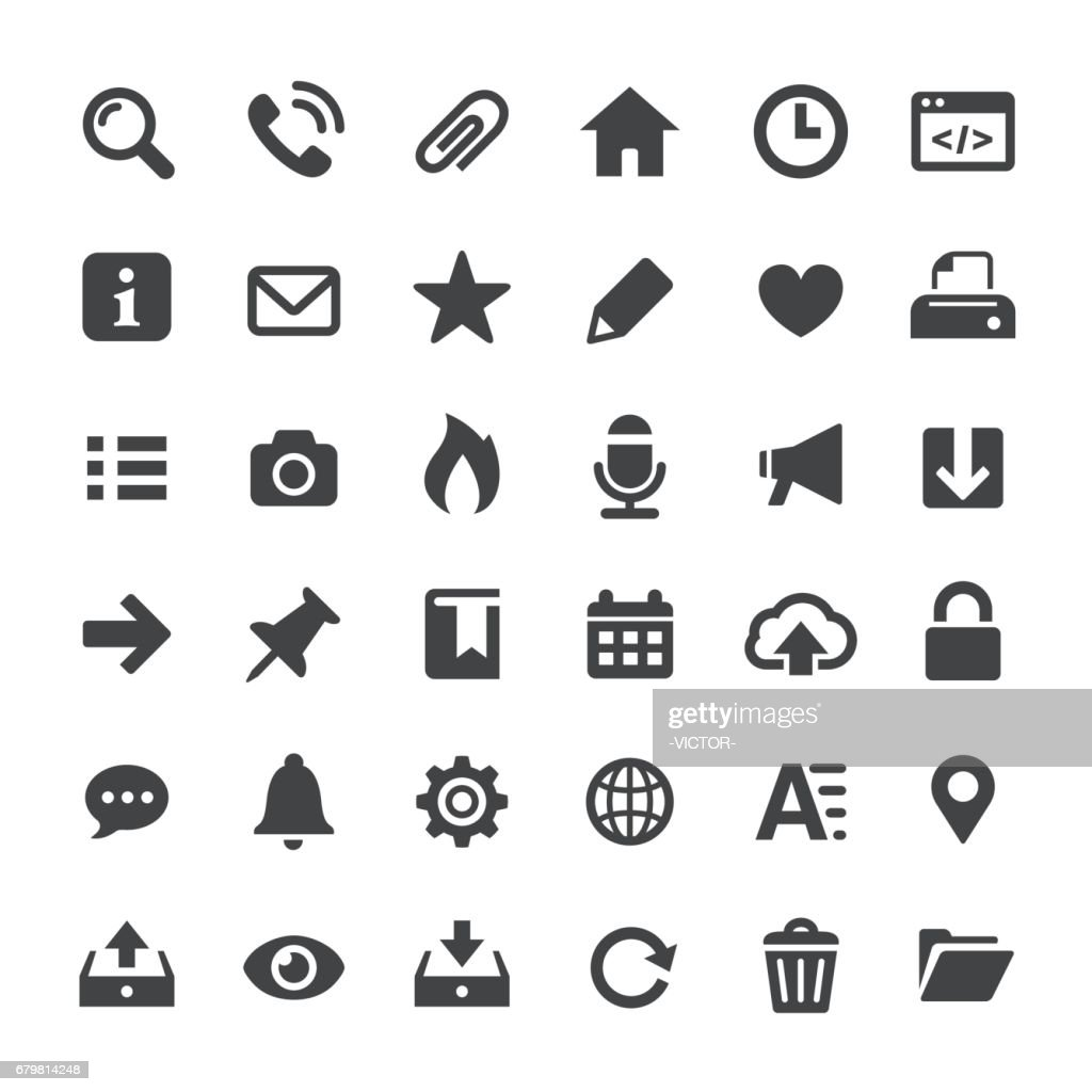 Interface Icons - Big Series