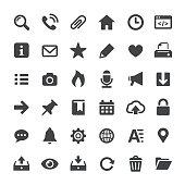 Interface Icons - Big Series