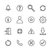 Interface icons - Line