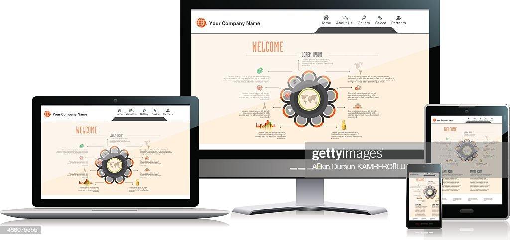 Interface-Media : Stock-Illustration