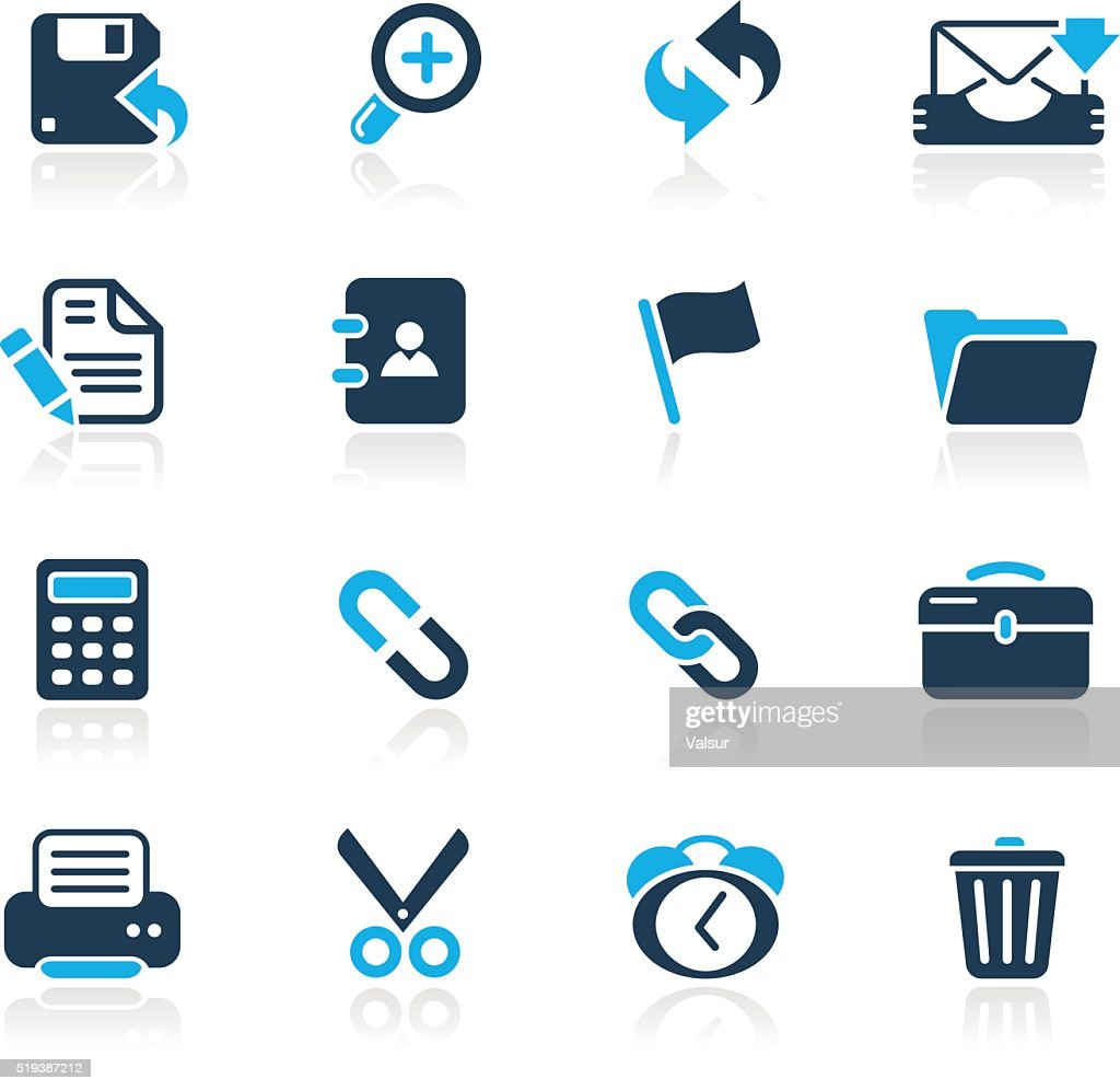 Interface Web Icons // Azure Series