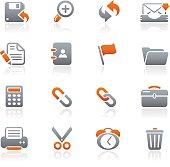 Interface Web Icons - Graphite Series