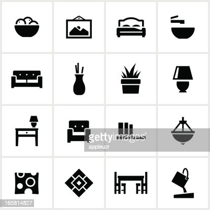 Interior Design Elements Interior Design Elements Icons Vector Art  Getty Images
