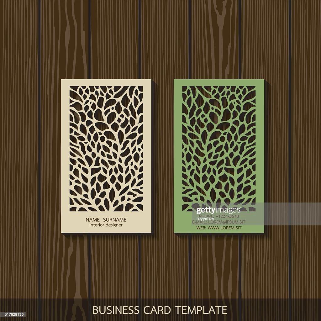 Interior Designer Card Template