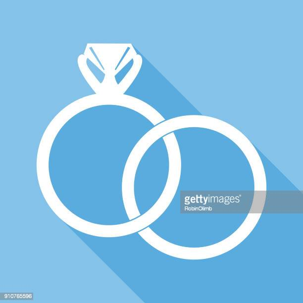 Interlocking Wedding Rings Icon