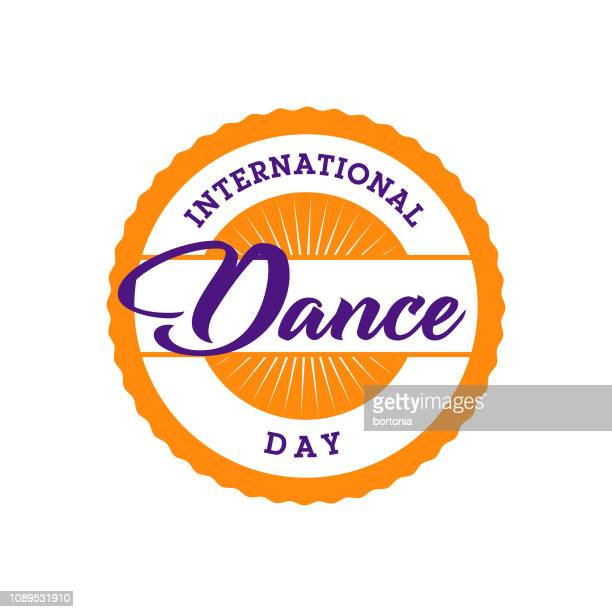 International Dance Day Label